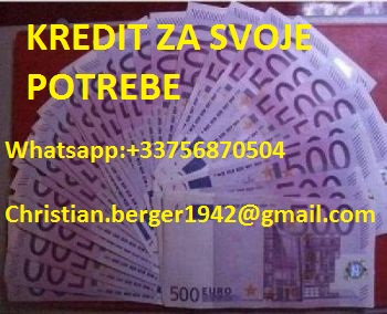 Pozajmice do 500.000 eura ( christian.berger1942@gmail.com )